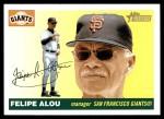 2004 Topps Heritage #283  Felipe Alou  Front Thumbnail