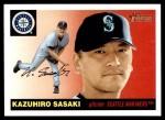 2004 Topps Heritage #345  Kazuhiro Sasaki  Front Thumbnail