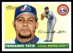 2004 Topps Heritage #371  Fernando Tatis  Front Thumbnail