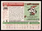 2004 Topps Heritage #288  Adam Kennedy  Back Thumbnail