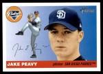 2004 Topps Heritage #246  Jake Peavy  Front Thumbnail