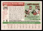 2004 Topps Heritage #270  Ramon Ortiz  Back Thumbnail