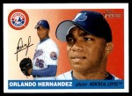 2004 Topps Heritage #319  Orlando Hernandez  Front Thumbnail