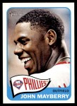 2014 Topps Heritage #17  John Mayberry  Front Thumbnail