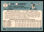 2014 Topps Heritage #17  John Mayberry  Back Thumbnail