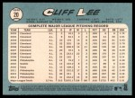 2014 Topps Heritage #20  Cliff Lee  Back Thumbnail