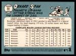 2014 Topps Heritage #51  Denard Span  Back Thumbnail