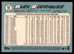 2014 Topps Heritage #64  Alex Rodriguez  Back Thumbnail