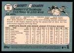 2014 Topps Heritage #65  Garrett Richards  Back Thumbnail