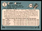 2014 Topps Heritage #75  Cody Asche  Back Thumbnail