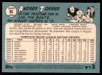 2014 Topps Heritage #96  Andres Torres  Back Thumbnail