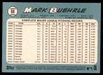 2014 Topps Heritage #98  Mark Buehrle  Back Thumbnail