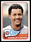 2014 Topps Heritage #110  Starlin Castro  Front Thumbnail