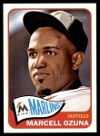 2014 Topps Heritage #112  Marcell Ozuna  Front Thumbnail