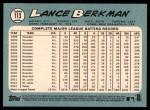2014 Topps Heritage #113  Lance Berkman  Back Thumbnail