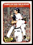 2014 Topps Heritage #137   World Series Game #6 - Champs for Third Time in Decade Front Thumbnail