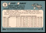 2014 Topps Heritage #140 A Jered Weaver  Back Thumbnail