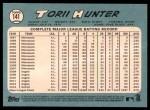 2014 Topps Heritage #141  Torii Hunter  Back Thumbnail