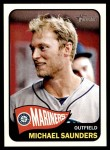 2014 Topps Heritage #142  Michael Saunders  Front Thumbnail