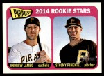 2014 Topps Heritage #143   -  Andrew Lambo / Stolmy Pimentel Pirates Rookies Front Thumbnail