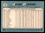2014 Topps Heritage #146  Juan Pierre  Back Thumbnail