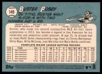 2014 Topps Heritage #149 NYG Buster Posey  Back Thumbnail