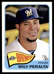 2014 Topps Heritage #163  Wily Peralta  Front Thumbnail