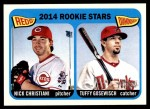 2014 Topps Heritage #181   -  Tuffy Gosewisch / Nick Christiani Rookies Front Thumbnail
