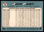 2014 Topps Heritage #182  Jake Peavy  Back Thumbnail