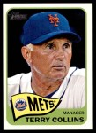 2014 Topps Heritage #187  Terry Collins  Front Thumbnail