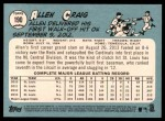 2014 Topps Heritage #190  Allen Craig  Back Thumbnail