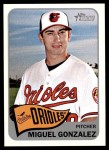 2014 Topps Heritage #223  Miguel Gonzalez  Front Thumbnail