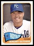 2014 Topps Heritage #246  Jeremy Guthrie  Front Thumbnail