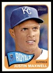2014 Topps Heritage #253  Justin Maxwell  Front Thumbnail