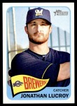 2014 Topps Heritage #263  Jonathan Lucroy  Front Thumbnail