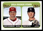 2014 Topps Heritage #273   -  Chad Bettis / David Holmberg Rookies Front Thumbnail