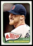 2014 Topps Heritage #289  Will Middlebrooks  Front Thumbnail
