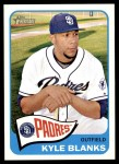 2014 Topps Heritage #295  Kyle Blanks  Front Thumbnail