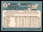 2014 Topps Heritage #296  Randall Delgado  Back Thumbnail