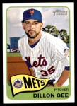 2014 Topps Heritage #318  Dillon Gee  Front Thumbnail