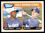 2014 Topps Heritage #331   -  Onelki Garcia / Nick Buss Dodgers Rookies Front Thumbnail