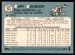 2014 Topps Heritage #333  Mark Melancon  Back Thumbnail