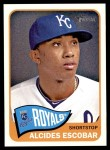 2014 Topps Heritage #334  Alcides Escobar  Front Thumbnail