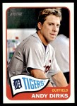 2014 Topps Heritage #336  Andy Dirks  Front Thumbnail