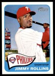 2014 Topps Heritage #337  Jimmy Rollins  Front Thumbnail
