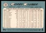 2014 Topps Heritage #338  Corey Kluber  Back Thumbnail