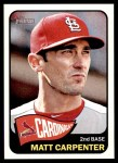 2014 Topps Heritage #342  Matt Carpenter  Front Thumbnail