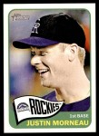 2014 Topps Heritage #344  Justin Morneau  Front Thumbnail