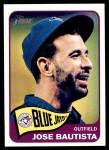 2014 Topps Heritage #345  Jose Bautista  Front Thumbnail