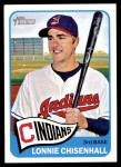 2014 Topps Heritage #357  Lonnie Chisenhall  Front Thumbnail